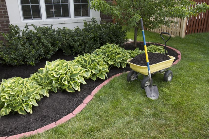 Mulch spreading